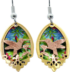 Colourful Sparkle Earrings - Oscardo