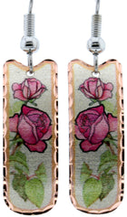 SR Rose Earring