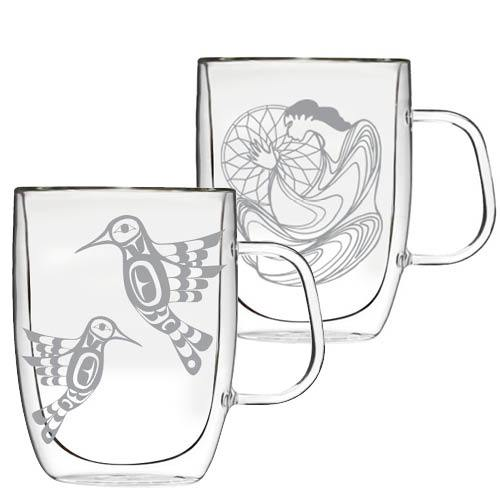 Double-Wall Glass Mugs - Oscardo