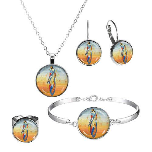 Dome Glass Jewelry