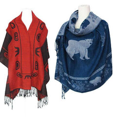Woven Reversible Shawls