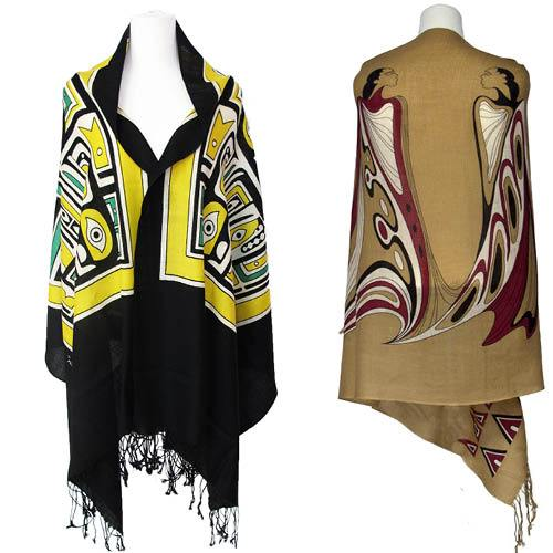 Artist Limited Edition Wool Shawls