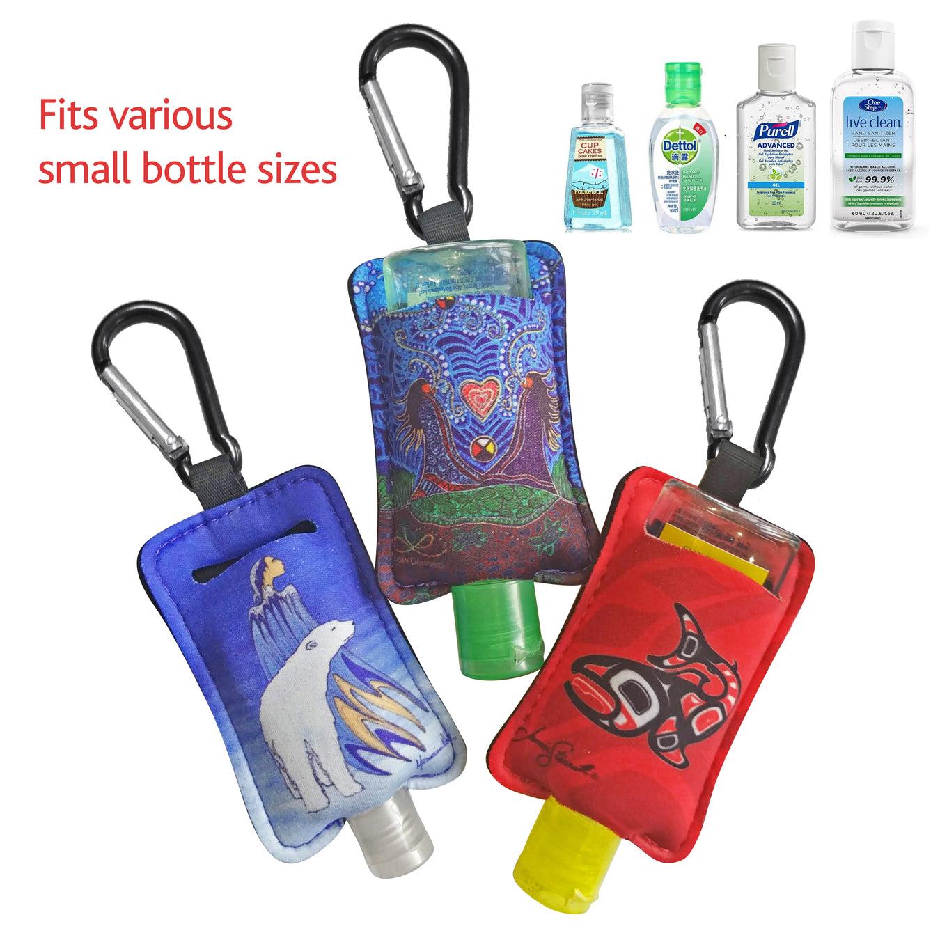 Sanitizer Bottle Holders