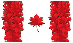 Maple Leaf Flag Tea Towel
