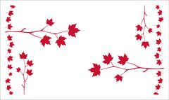 Maple Leaf Sapling Tea Towel