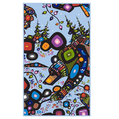 John Rombough Bear Microfibre Towel