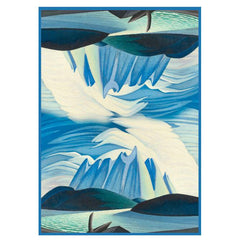 Lawren Harris Lake and Mountains Microfibre Towel