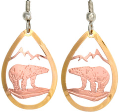 Bear Cut-out Earrings