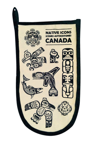 Native Icons Oven Mitt