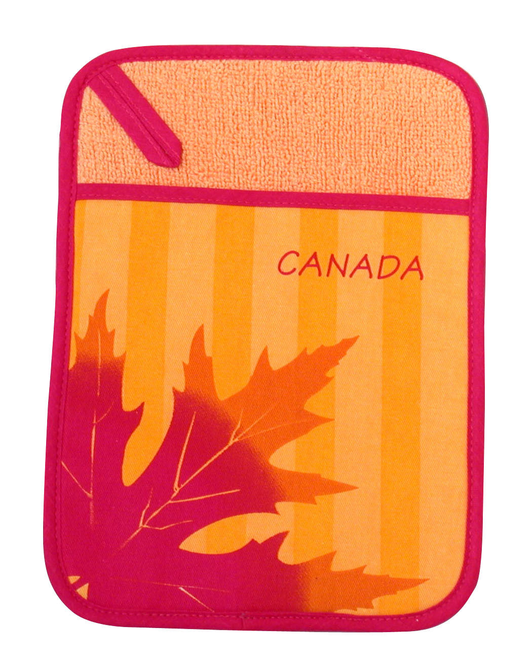 Maple Leaf Silhouette Pot Holder