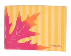 Maple Leaf Silhouette Placemat