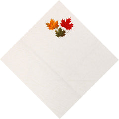 Ruth Lund Triple Leaves Napkin - Set of 2