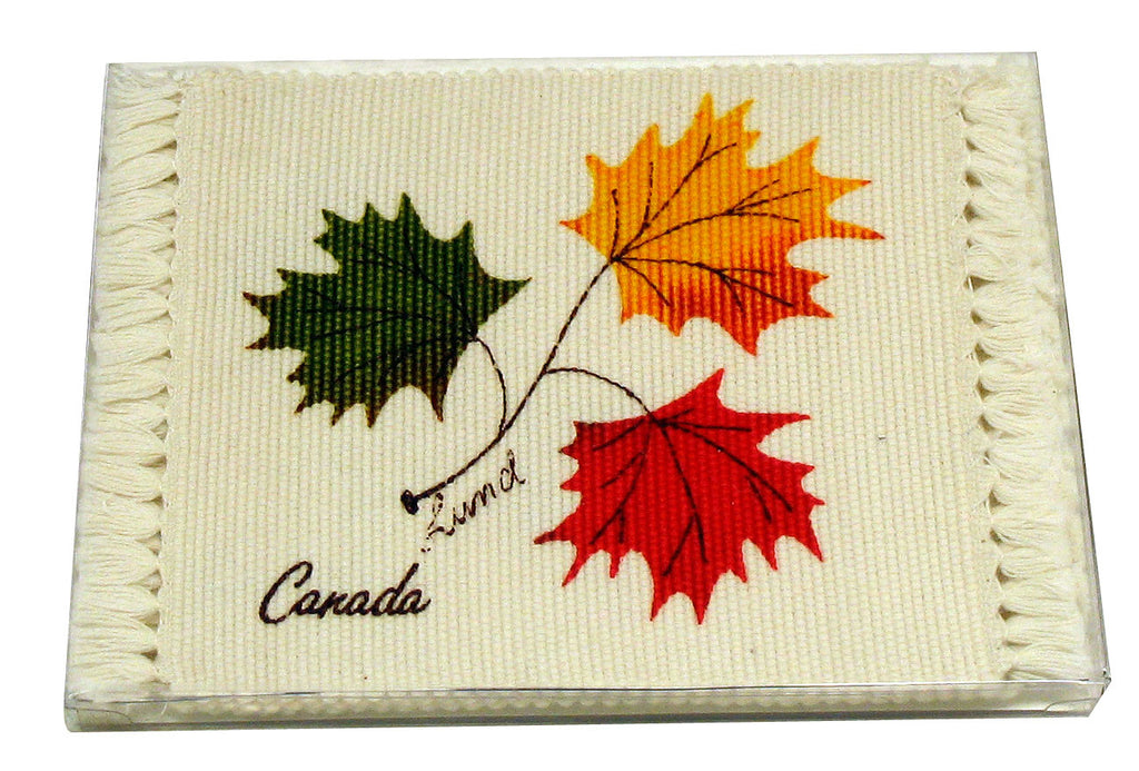 Ruth Lund Triple Leaves Coaster