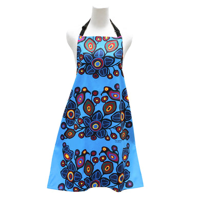Norval Morrisseau Flowers and Birds Apron - Oscardo