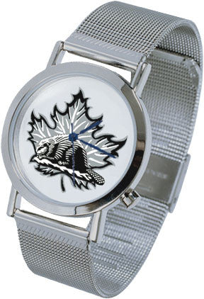 Beaver Silver Collection Watch-Men