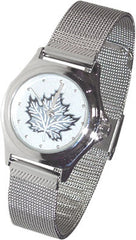 Maple Leaf Silver Collection Watch-Ladies