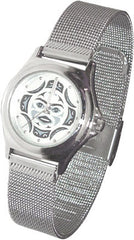 Moon Face Silver Collection Watch-Ladies