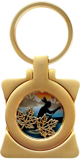 Maple Leaf-Canoe Photo Frame Key Holder