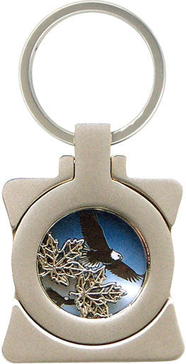 Maple Leaf-Eagle Photo Frame Key Holder
