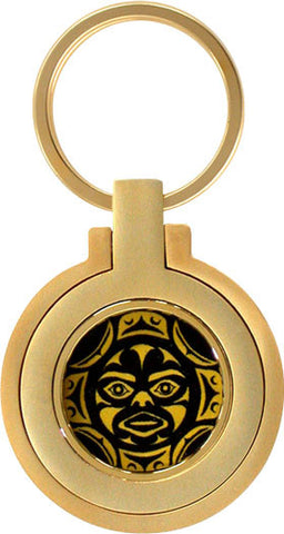 First Nations-Moon Mask Key Holder