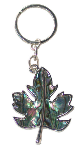 Maple Leaf Genuine Shell Key Holder