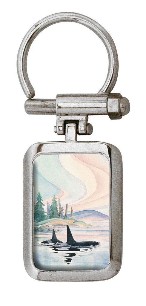 Sue Coleman Whale Artist Collection Key Holder