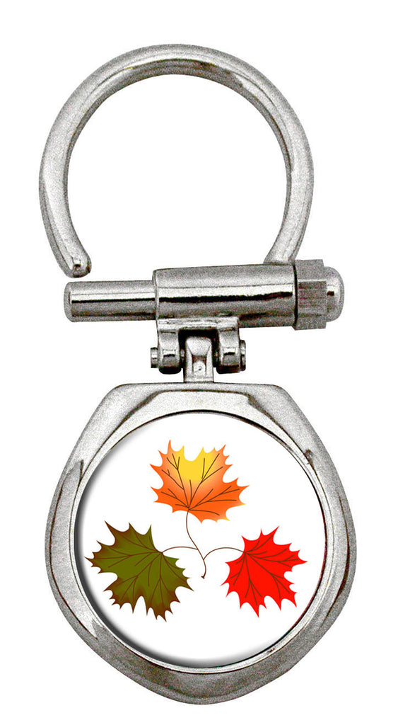 Ruth Lund Triple Leaves Artist Collection Key Holder