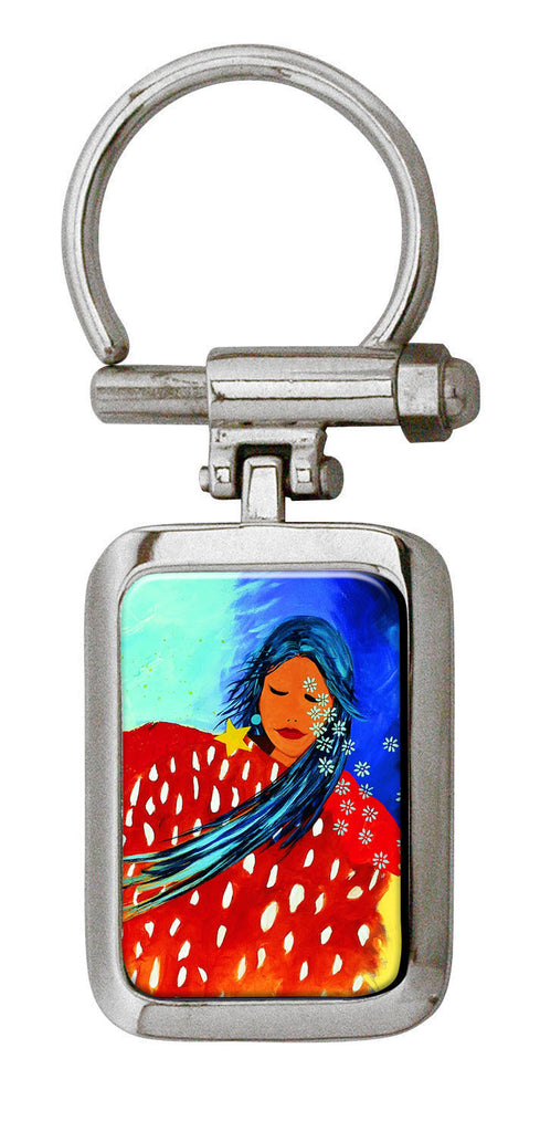 'At Peace with the Universe' Artist Collection Key Holder - Oscardo