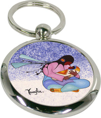 Cecil Youngfox Joyous Motherhood Artist Key Holder