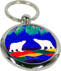 Dawn Oman Sky Watchers Artist Key Holder