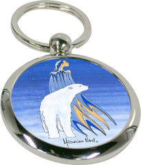 Maxine Noel Mother Winter Artist Key Holder