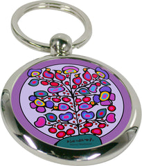Norval Morrisseau Woodland Floral Artist Key Holder