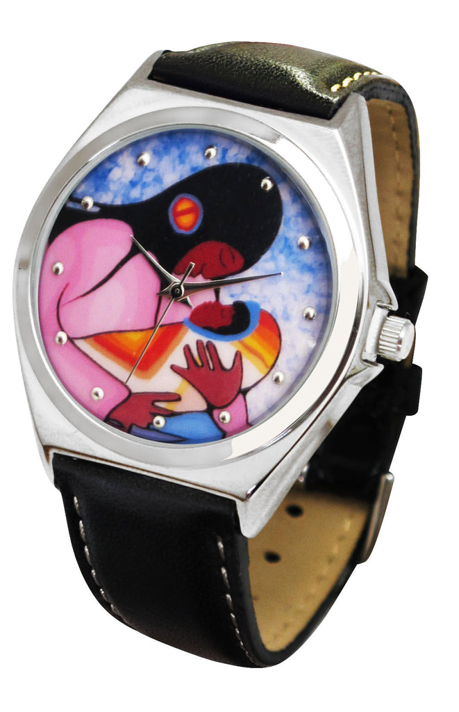 Cecil Youngfox Joyous Motherhood Artist Collection Watch