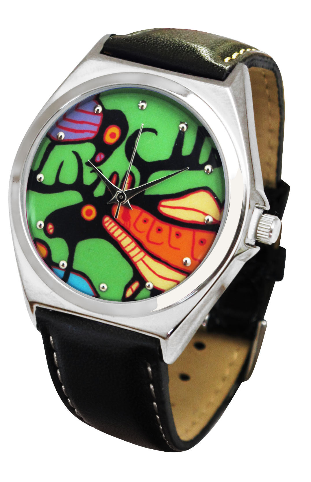 Norval Morrisseau Moose Harmony Artist Collection Watch