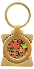 Fall Leaves Photo Frame Key Holder