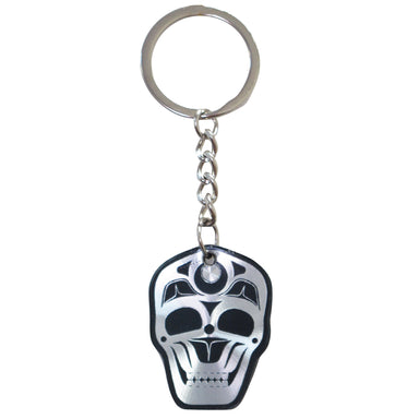 James Johnson Skull Metallic Key Chain - Oscardo