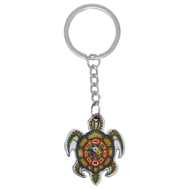 James Jacko Medicine Turtle Metallic Key Chain - Oscardo