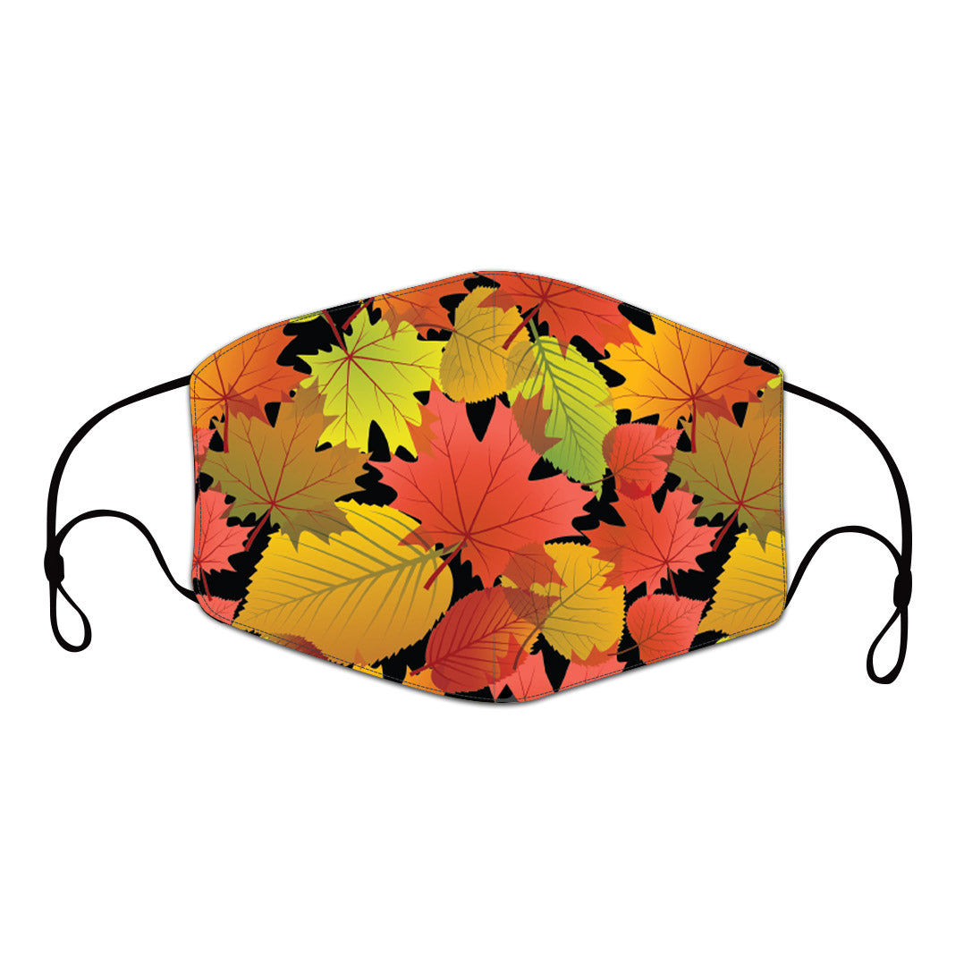 Fall Leaves Reusable Face Mask
