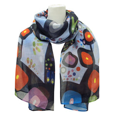 John Rombough The Bear Artist Scarf