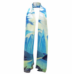 Lawren Harris Lake and Mountains Modal Shawl