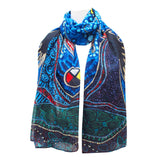 Leah Dorion Breath of Life Artist Scarf