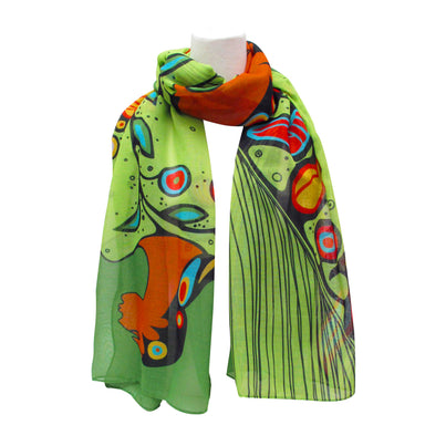 Maxine Noel Spirit of the Woodlands Artist Scarf - Oscardo