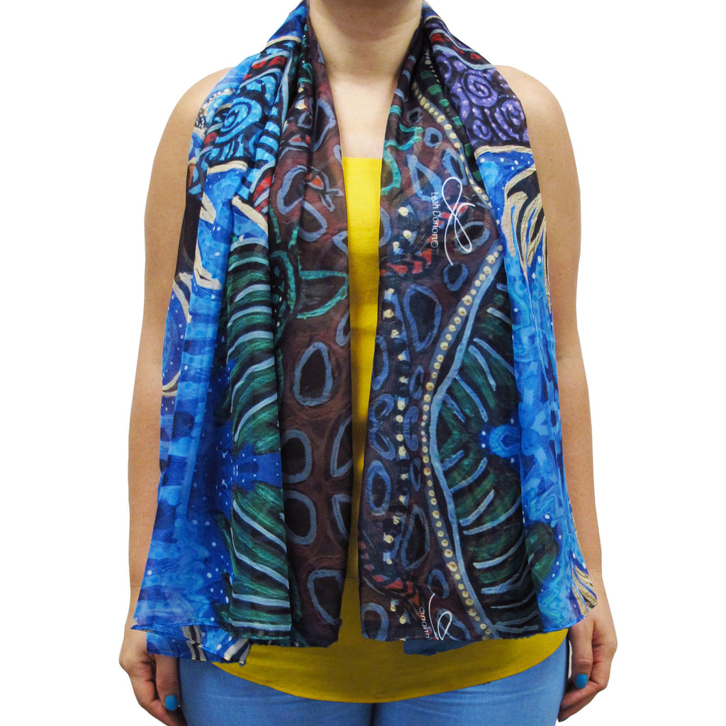 Leah Dorion Breath of Life Cape Scarf