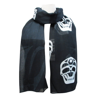 James Johnson Skull Artist Scarf - Oscardo