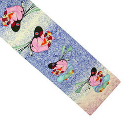 'Joyous Motherhood' Silk Oblong Scarf - Oscardo