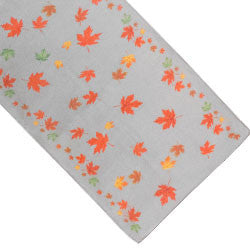 Maple Leaf Poly Scarf