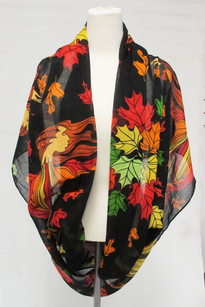 'Leaf Dancer' Infinity Shawl - Oscardo