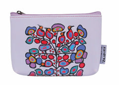 Norval Morrisseau Woodland Floral Coin Purse