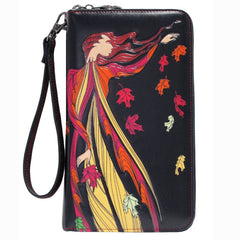 Maxine Noel Leaf Dancer Travel Wallet