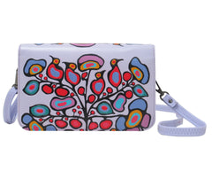 Norval Morrisseau Woodland Floral Crossbody Purse